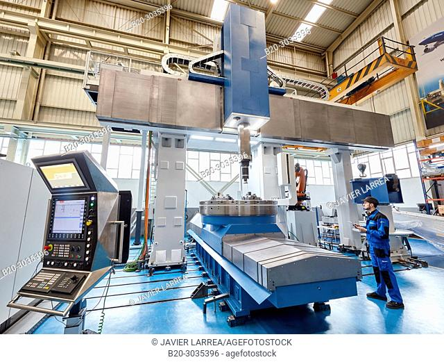 Vertical lathe, Machining Center, CNC, Design, manufacture and installation of machine tools, Gipuzkoa, Basque Country, Spain, Europe