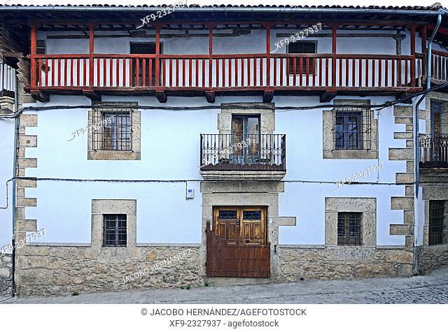 Traditinal house.Candelario.Salamanca province.Castilla y Leon.Spain