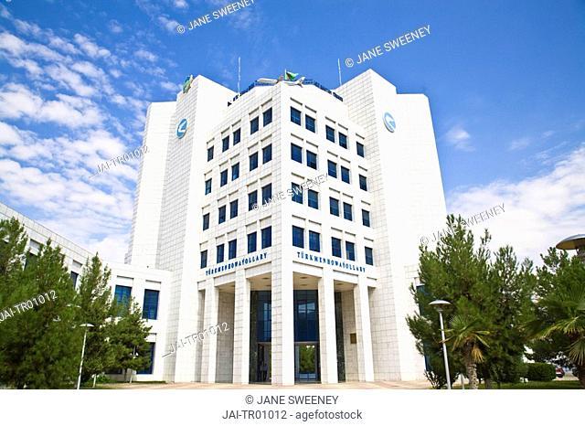 Turkmenistan, Ashgabat, Ashkhabad, Government building