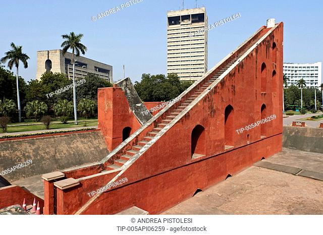 India, Delhi, New Delhi, Jantar Mantar planetarium