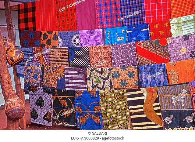 Pieces of fabrics, Tanzania