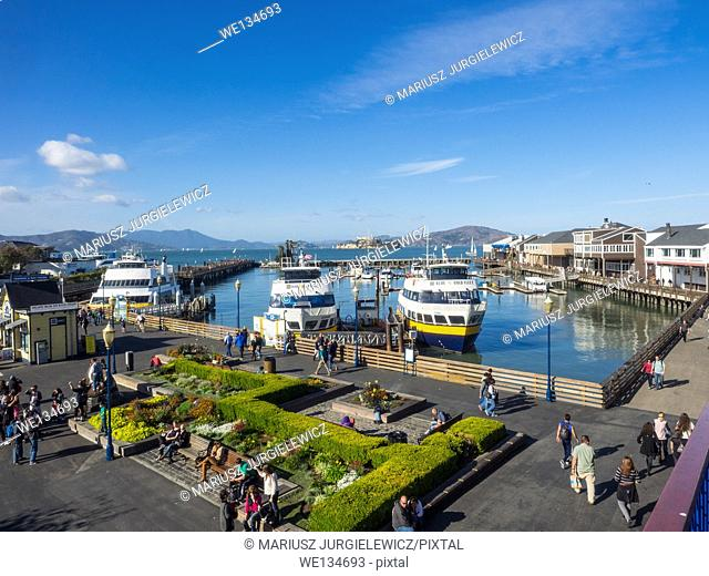 Fisherman's Wharf is a neighborhood and popular tourist attraction in San Francisco, California