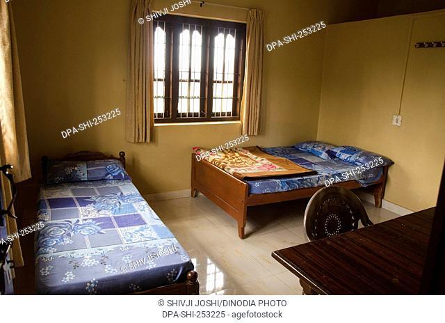 Hotels room, vagamon, kerala, india, asia
