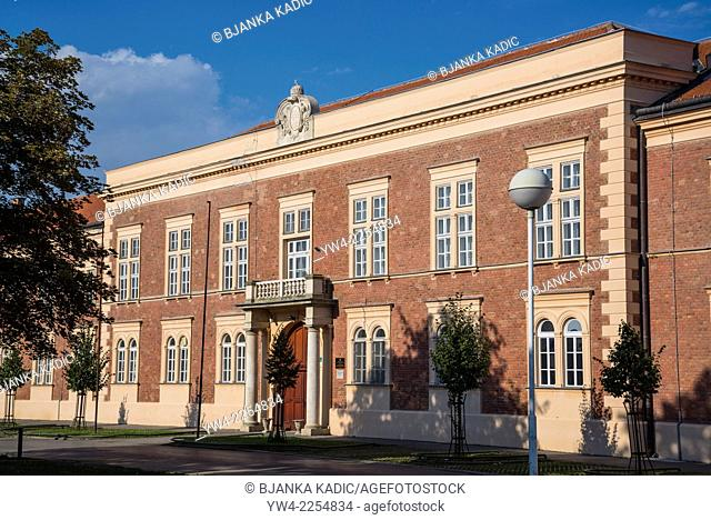 Croatian Chamber of Commerce, Square of Ljudevit Gaj, Osijek, Slavonia, Croatia