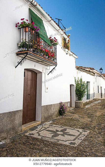 Linares de la Sierra, Aracena Natural Park and Picos de Aroche, Huelva, Andalucia, Spain