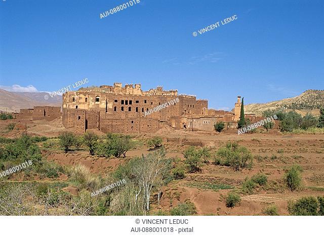 Morocco - South - Marrakech - Ouarzazate - Tizi-N-Tichka road - Kasbah
