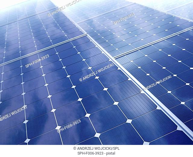 Solar energy, computer artwork