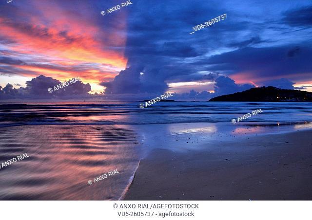 Spain. Galicia. Pontevedra. Playa America. Nigran