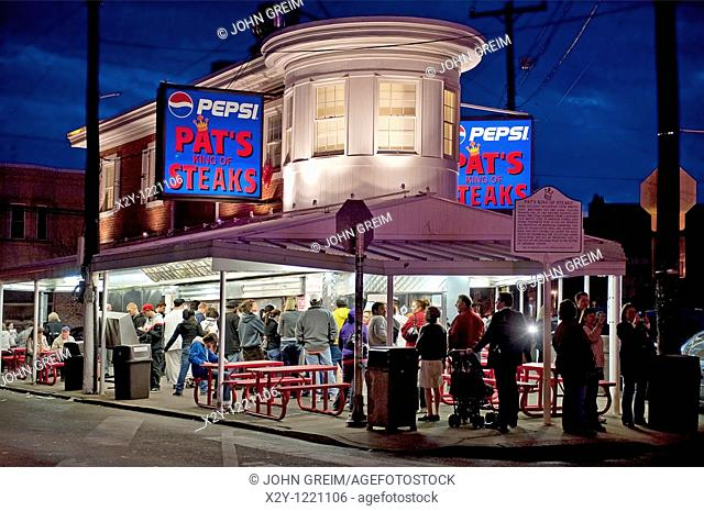 Famous Pat's Steaks, South Philly, Philadelphia, PA, USA