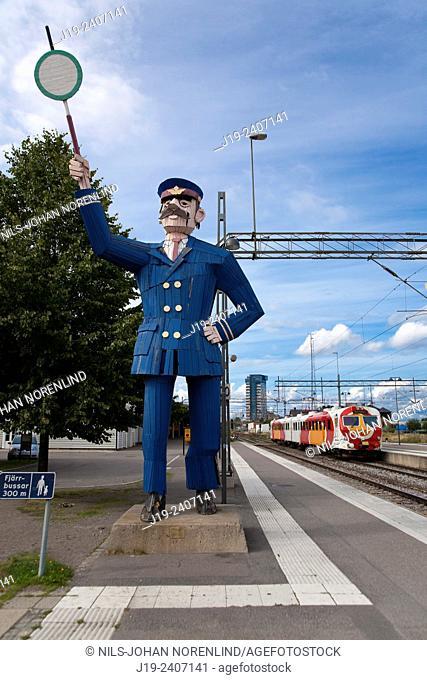 "Linköping ,"""" railway station"""" Östergötland Sweden"