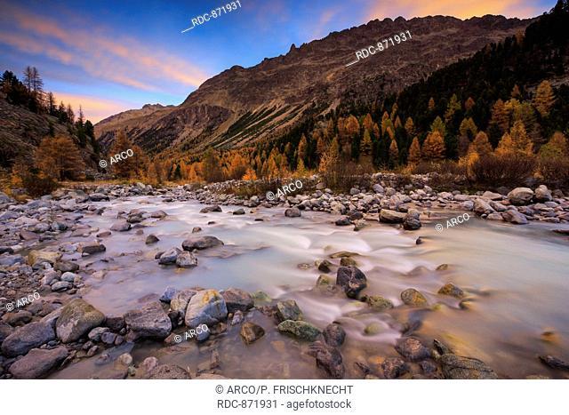 Piz Palue, 3905 m, Piz Bernina, 4049 m, Piz Morteratsch, 3751 m, Biancograt, Oberengadin, Graubuenden, Schweiz
