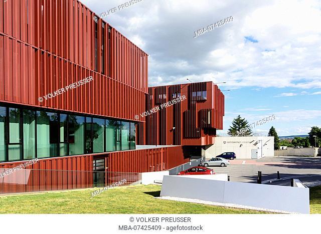 Eisenstadt, Justizzentrum, Justizanstalt, Judicial Center, Justice Building, Neusiedler See (Lake Neusiedl), Burgenland, Austria