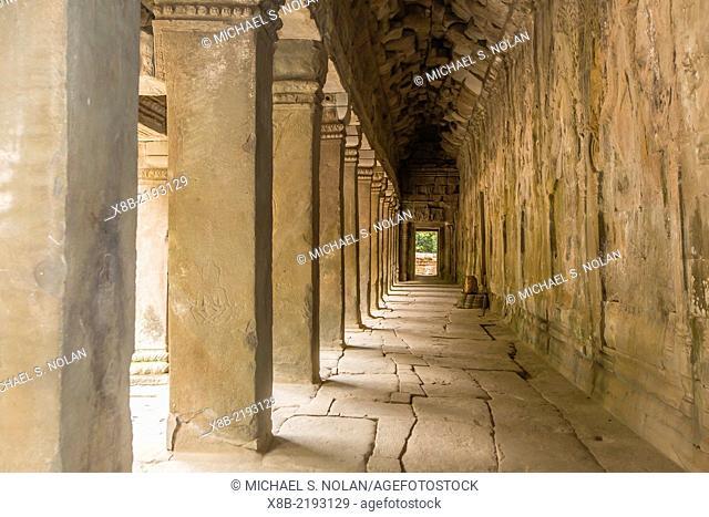 Ta Prohm Temple, Rajavihara, Angkor, Siem Reap Province, Cambodia Khmer