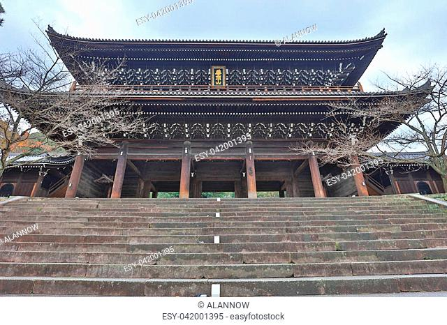 temple in Chion in complex in Kyoto