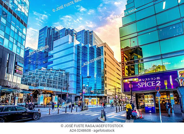 Japan,, Tokyo City, Ikebukuro Ward, Ikebukuro Station West Side