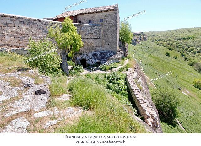 Cufut Qale, Chufut-Kale Jewish Fortress Crimea, Ukraine, Eastern Europe