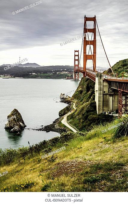 Golden Gate Bridge, San Francisco Bay, California