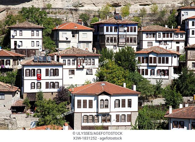 asia, turkey, central anatolia, ancient town of safranbolu