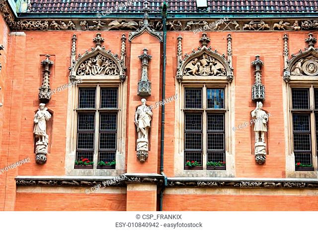 Detail of the City Hall, Wroclaw, Poland