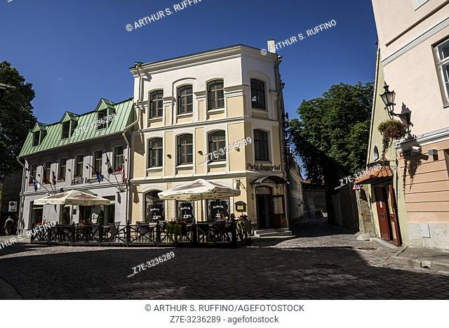 Architecture of Old Town, Tallinn, Estonia, Baltic States