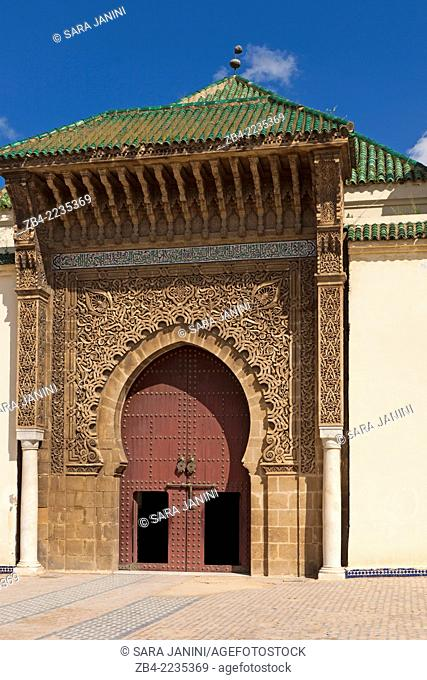 Mausoleum of Moulay Ismail, Meknes, Morocco, North Africa