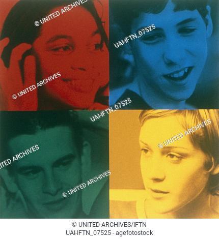 Kids, USA 1995, Regie: Larry Clark, Filmposter, Filmplakat