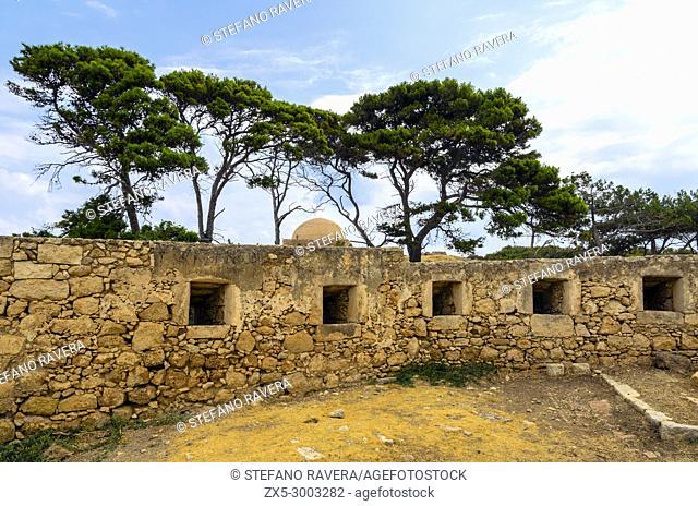 Venetian fortress in Rethymno - Crete, Greece