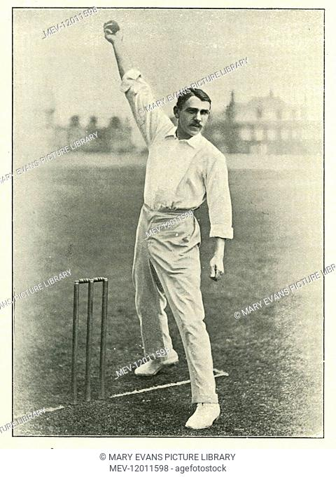 J.T. Herne cricketer circa 1897