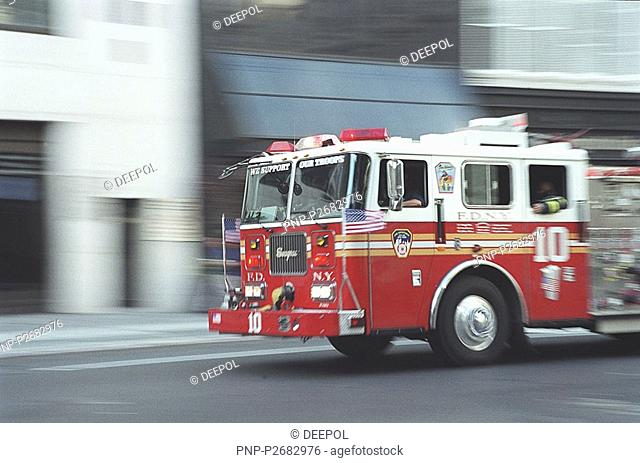 New York City, fire brigade