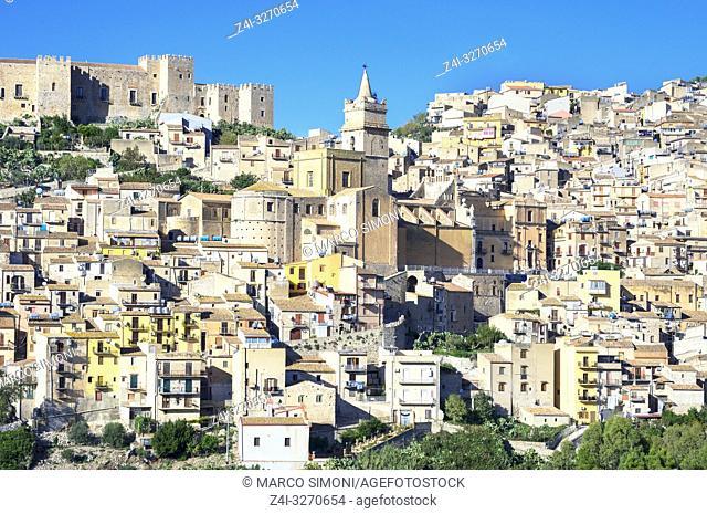 Caccamo Town, Caccamo, Sicily