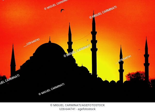 The Fatih Mosque Complex is a large mosque with its many dependencies in the Fatih district of Istanbul, Turkey. Fatih Sultan Mehmed the Conqueror had the...