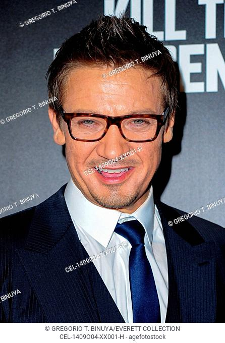 Jeremy Renner at arrivals for KILL THE MESSENGER Premiere, Museum of Modern Art (MoMA), New York, NY October 9, 2014. Photo By: Gregorio T