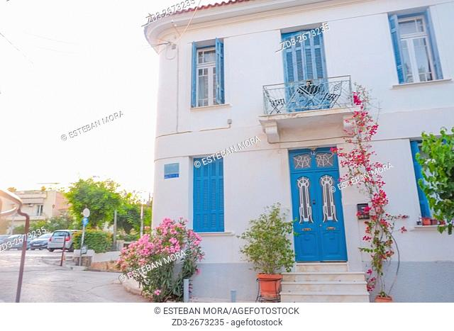 Greek house in Athens, Greece