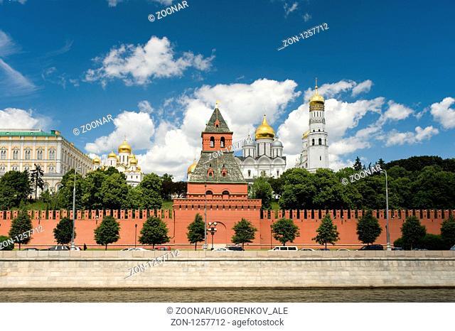 Moscow Kremlin close up