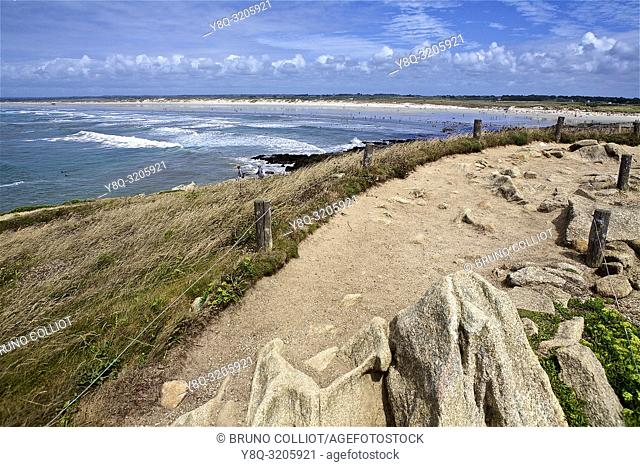 tip of the torch, surf paradise and kitesurf. Finistere Brittany France