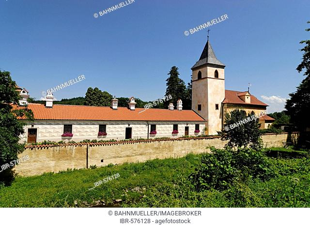 Castle Kurzweil zamek Kratochvile southern Bohemian region Chzech Republic