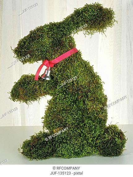 mossy Easter bunny
