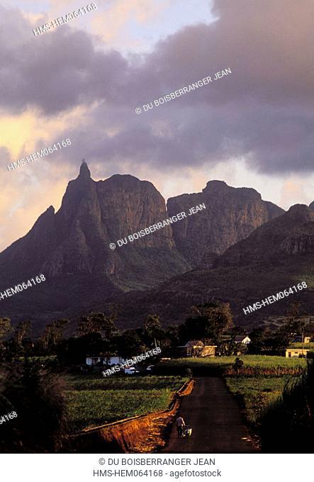 Mauritius Island, Pieter Both mountain in Notre Dame region
