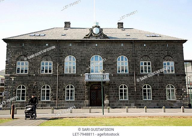Reykjavik Parliament House. Iceland