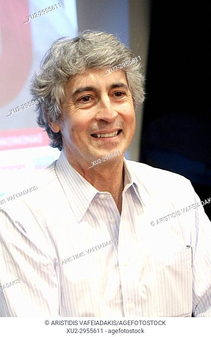 Greek - American director ALEXANDER PAYNE give a press conference during the 30th Panorama of European Cinema