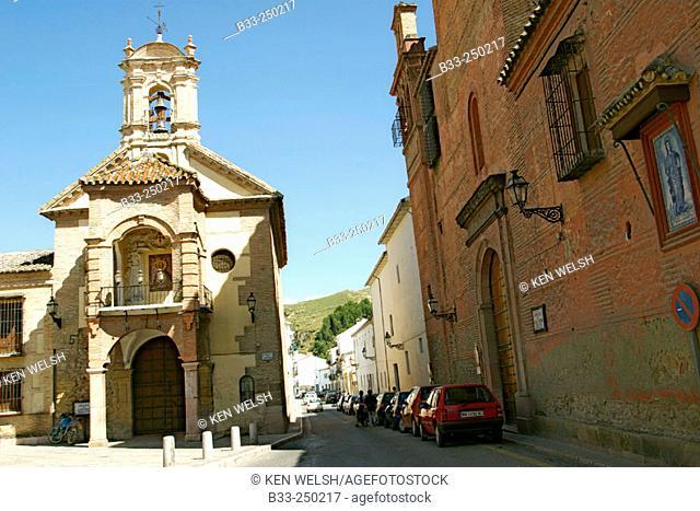 Church of Santiago. Antequera, Málaga province. Spain
