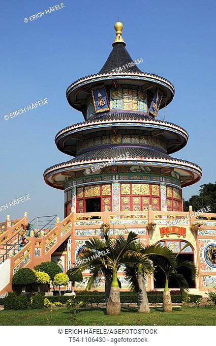 Chinese Temple in Kanchanaburi