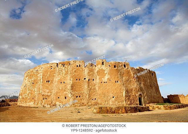 The fortified grain store Qasr Al Haj, Libya