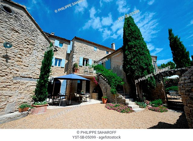 Old oil mill, hotel, bed and breakfast, Provence, France