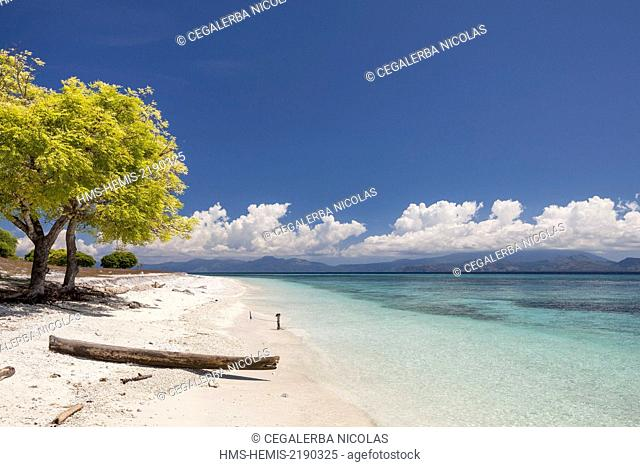 Indonesia, Lesser Sunda Islands, Alor archipelago, Kangge Island, beach