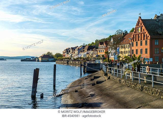 Waterfront, Meersburg, Baden-Württemberg, Germany