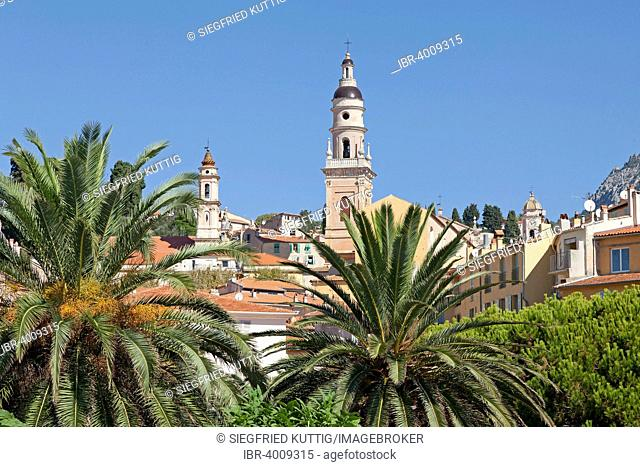 Church of Saint-Michel-Archange, Menton, Cote d'Azur, France