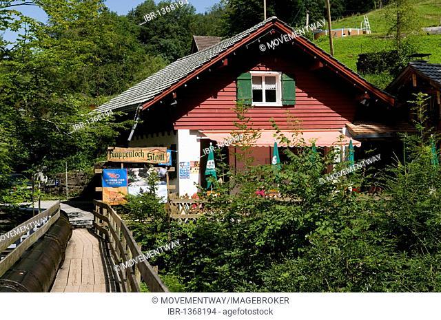 Rappenloch Stadl guesthouse in Guetle, Dornbirn, Vorarlberg, Austria, Europe