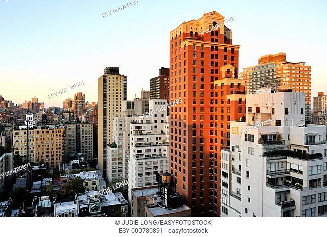 Upper East Side Sunset, New York, NY, USA