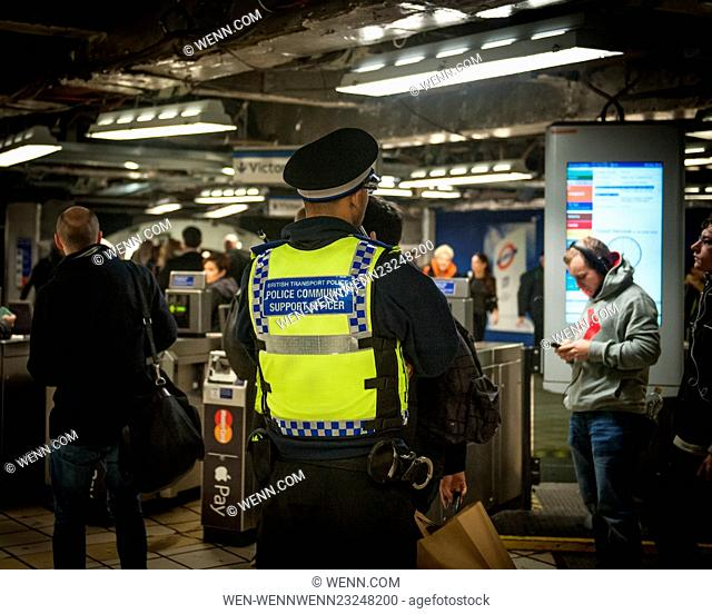 The Metropolitan Police are posting more officers in Underground Stations following the suspected terrorist attack at Leytonstone Underground Station Featuring:...